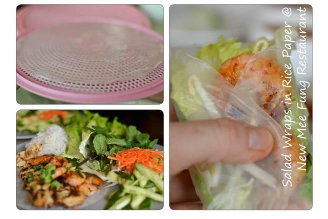 vietnamese, restaurant, ottawa, salad wrap, rice paper